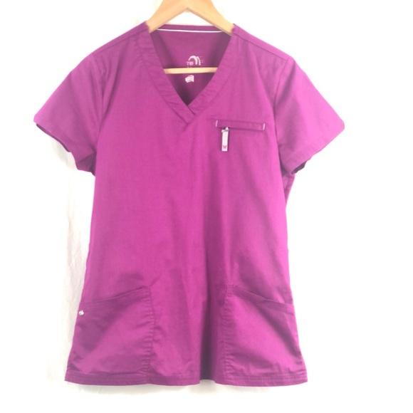 ❤️ 3/$30- HealthPro scrub top